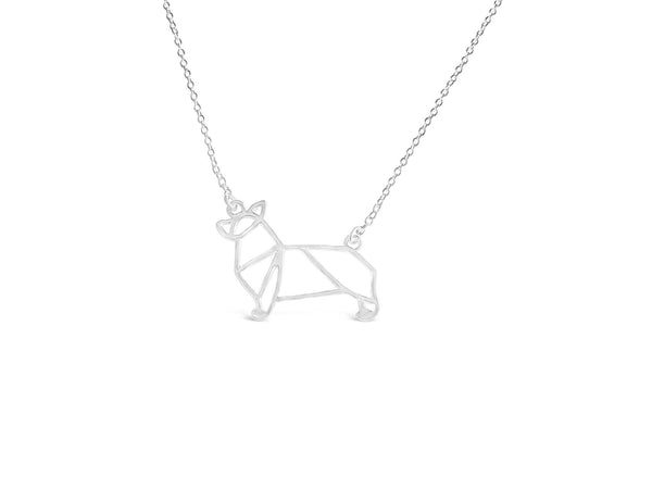 The Welsh Corgi Necklace - Rosa Vila