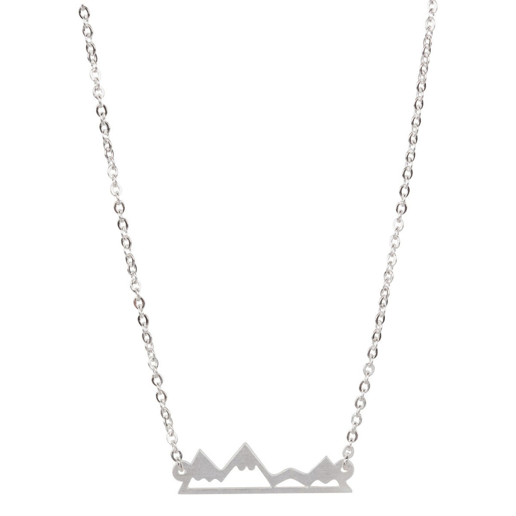 Silver Mountain Necklace-Rosa Vila Boutique
