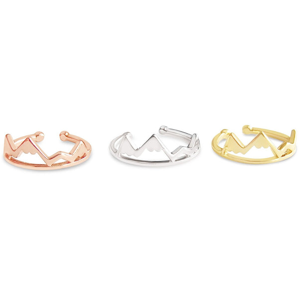 Adjustable Mountain Ring - Rosa Vila