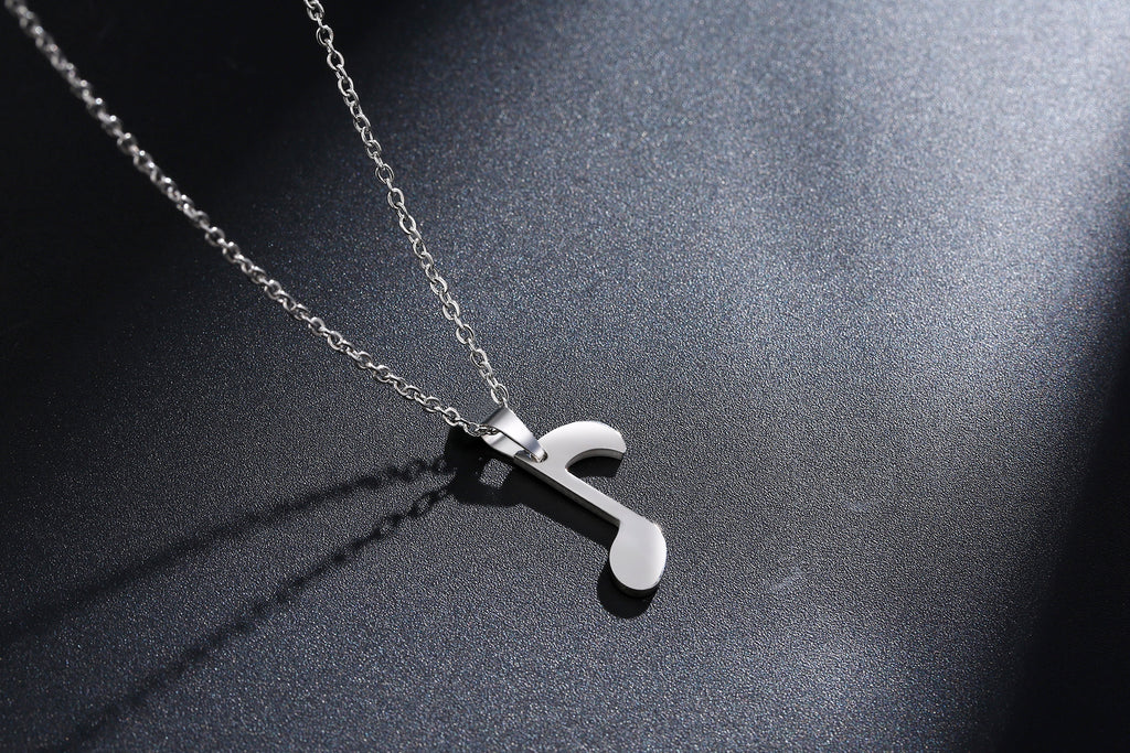 Music Note Necklace for Women-Rosa Vila Boutique