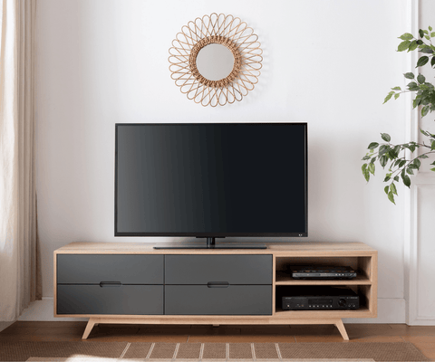 Tuscany1800 TV Cabinet - Grey