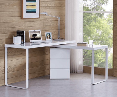 VIBE Multi-Purpose Work Station Desk - White