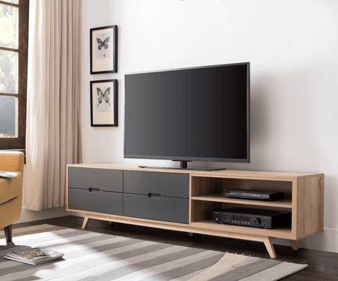Tuscany2000 TV Cabinet - Grey