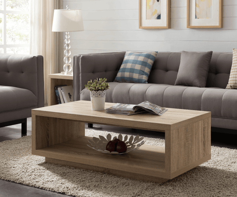 Brunswick Coffee Table - 1200 Oak