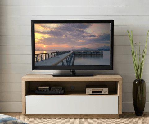 Brunswick TV Cabinet - 1200 Oak