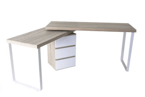 VIBE Multi-Purpose Work Station Desk - Oak