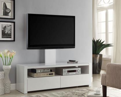 Viva1500 TV Cabinet with TV Mount - White