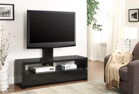 Viva1500 TV Cabinet with TV Mount - Black