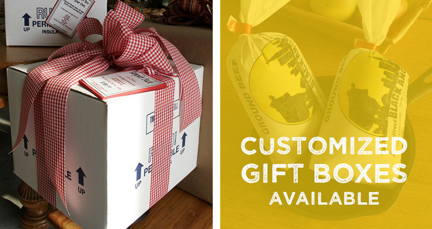 Custom Gift Boxes available
