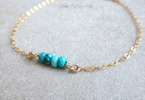 Sleeping Beauty Turquoise Choker Necklace