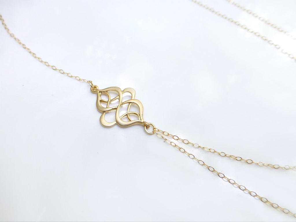 delicate asymmetrical product brass mini s electrum petite necklace short gold img fool
