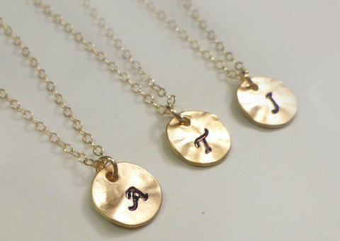 Add A Stamped Charm To Necklace