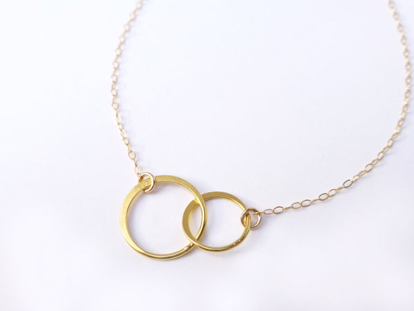 Infinity Necklace - Sister Eternity Gift Necklace