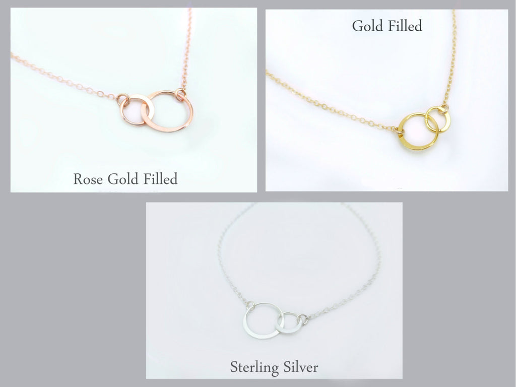 day screenshot sterling mothers infinity circles mother silver interlocking necklace gift products daughter jewelry two