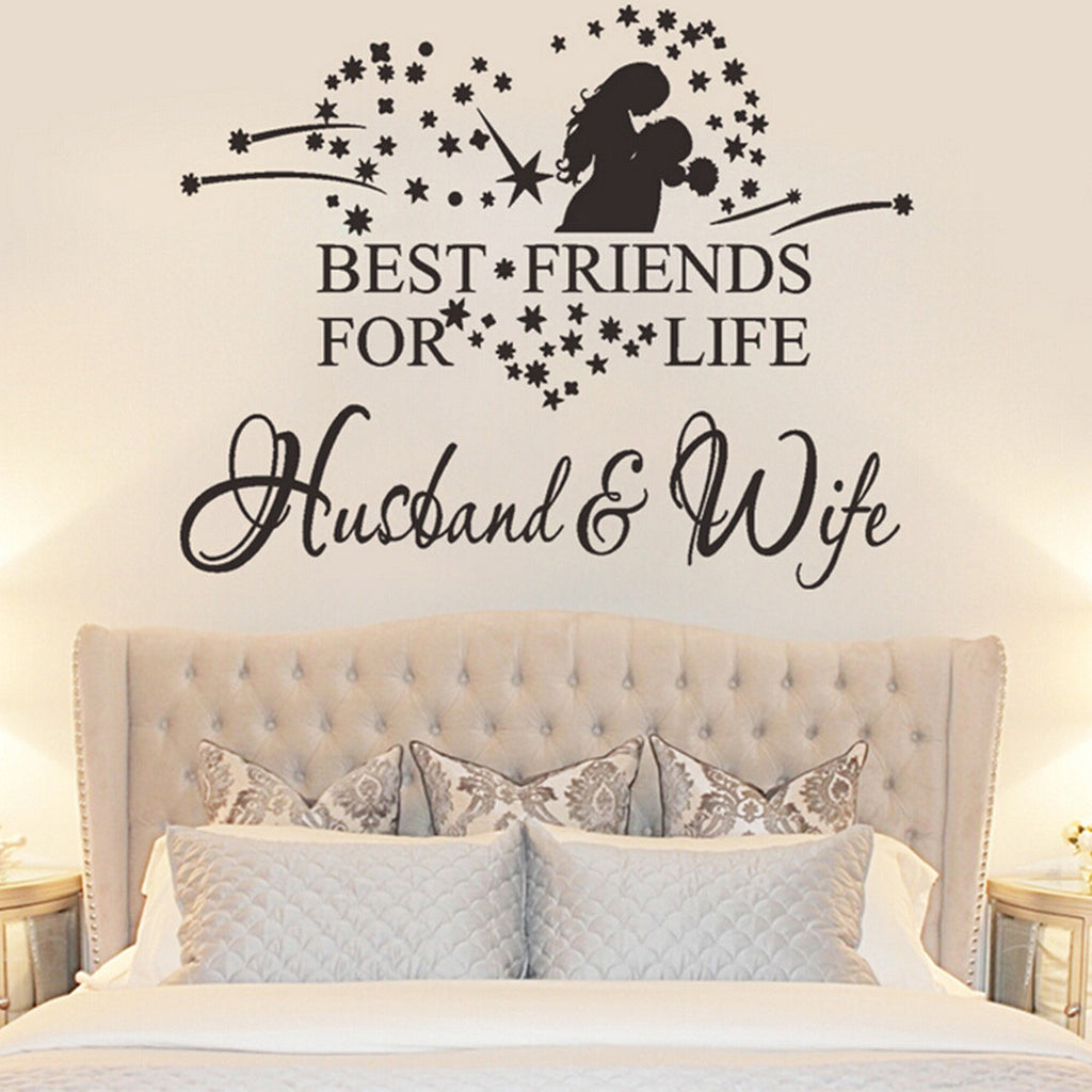 best friends husband and wife wall sticker cook stop shop. Black Bedroom Furniture Sets. Home Design Ideas