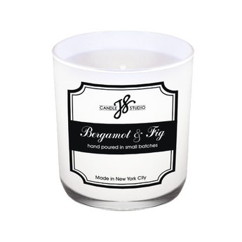 Bergamot & Fig Candle - JS Candle Studio