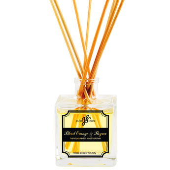 Blood Orange & Thyme Reed Diffuser - JS Candle Studio - Candles & Home Fragrance
