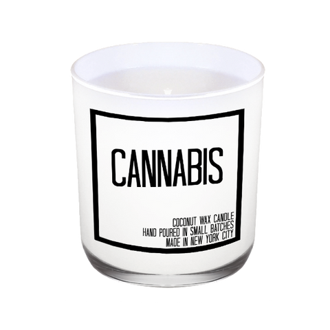 Cannabis Candle - JS Candle Studio