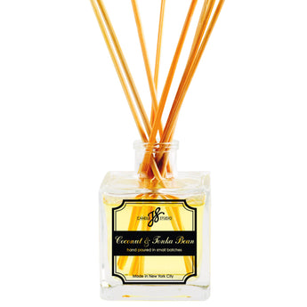 Coconut & Tonka Bean Reed Diffuser - JS Candle Studio - Candles & Home Fragrance