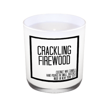 Crackling Firewood Candle - JS Candle Studio