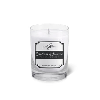Gardenia & Jasmine Votive - JS Candle Studio - Candles & Home Fragrance