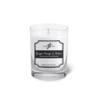 Ginger Orange & Vetiver Votive - JS Candle Studio - Candles & Home Fragrance
