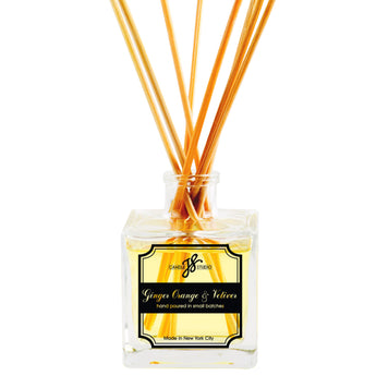 Ginger Orange & Vetiver Reed Diffuser - JS Candle Studio - Candles & Home Fragrance