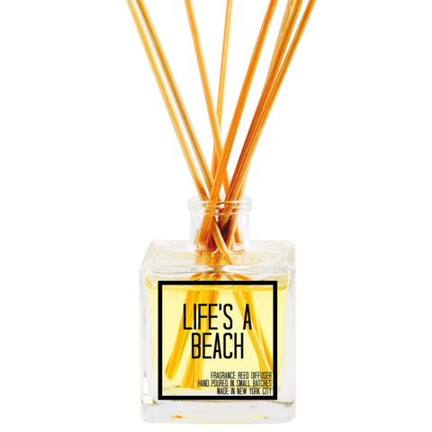 Life's A Beach Reed Diffuser - JS Candle Studio - Candles & Home Fragrance