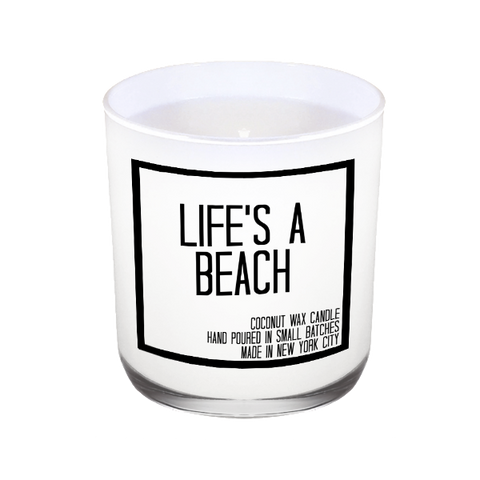 Life's A Beach Candle - JS Candle Studio