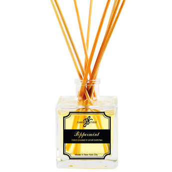 Peppermint Reed Diffuser - JS Candle Studio - Candles & Home Fragrance