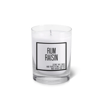 Rum Raisin Votive - JS Candle Studio - Candles & Home Fragrance