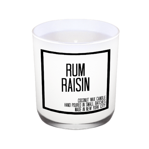 Rum Raisin Candle - JS Candle Studio