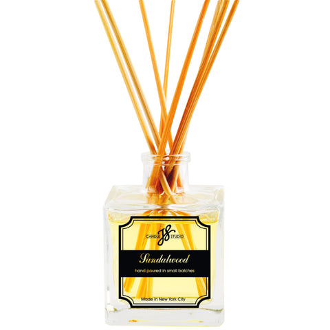 Sandalwood Reed Diffuser - JS Candle Studio - Candles & Home Fragrance
