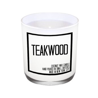 Teakwood Candle - JS Candle Studio