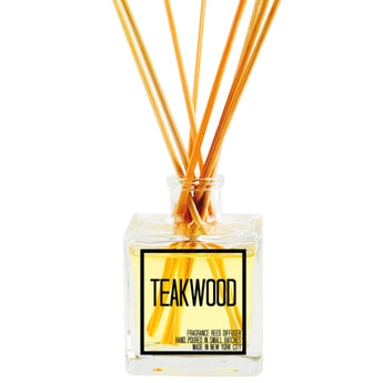 Teakwood Reed Diffuser - JS Candle Studio