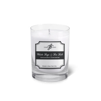 White Sage & Sea Salt Votive - JS Candle Studio - Candles & Home Fragrance