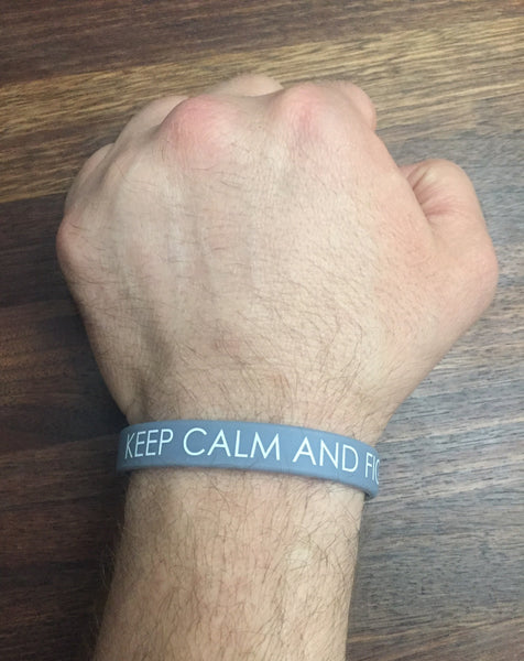 Brain Cancer Awareness Silicone Bracelet