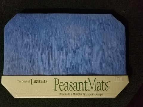 Set of 12 Paper Placemats Various Colors- by Peasant Mats