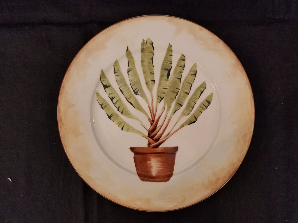 "8"" American Atelier Tropical Palm Plate"