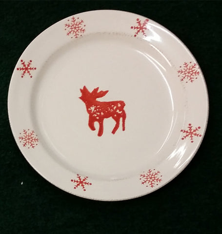 Holiday Dishes - Snowman Reindeer Snowflake or Xmas Tree ... & Holiday Dishes - Snowman Reindeer Snowflake or Xmas Tree \u2013 Fat ...