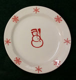Holiday Dishes - Snowman, Reindeer, Snowflake or Xmas Tree