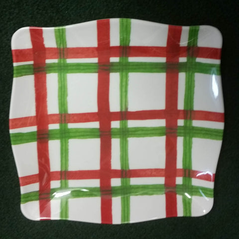 Xmas Tartan Design - High Quality Melamine