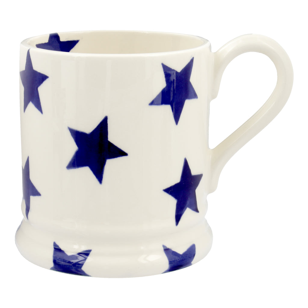 Emma Bridgewater - Blue Star 1/2 Pint Mug