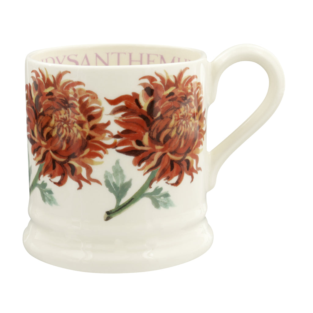 Emma Bridgewater - Flowers Chrysanthemum 1/2 Pint Mug
