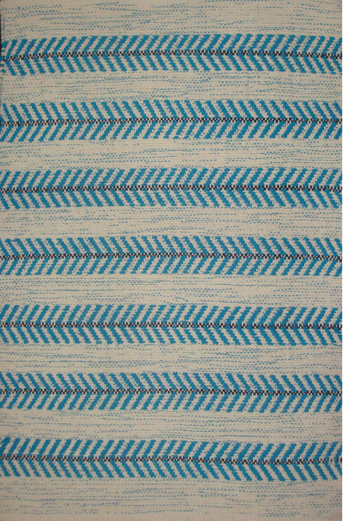 Avocado Rugs - Dhurrie - Arrow Aqua