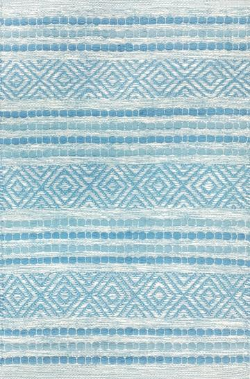 Avocado Rugs - Dhurrie - Fusion Ice Blue