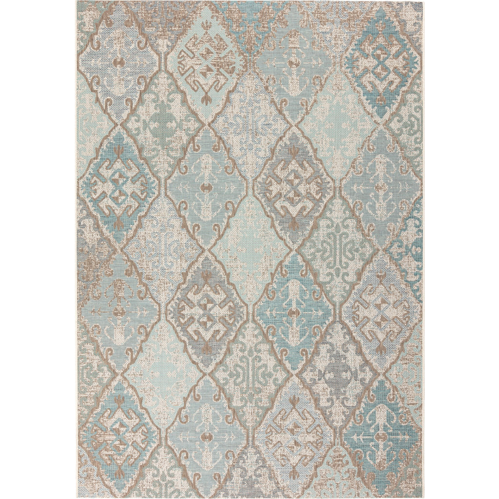 Avocado Rugs - Monaco - Vista Light Turquoise