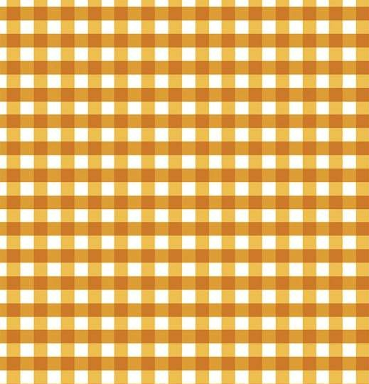 mustard and white plaid