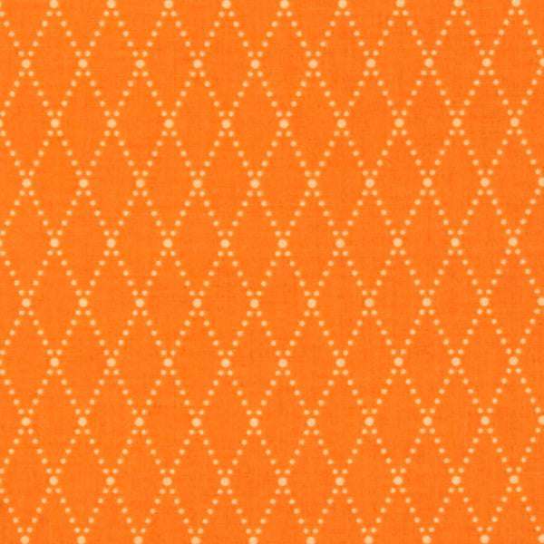 orange and white argyle
