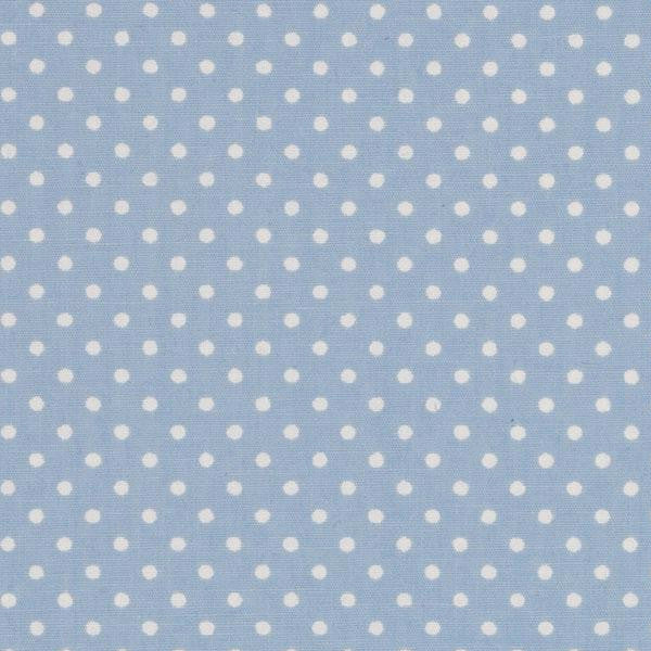 blue light polka dot